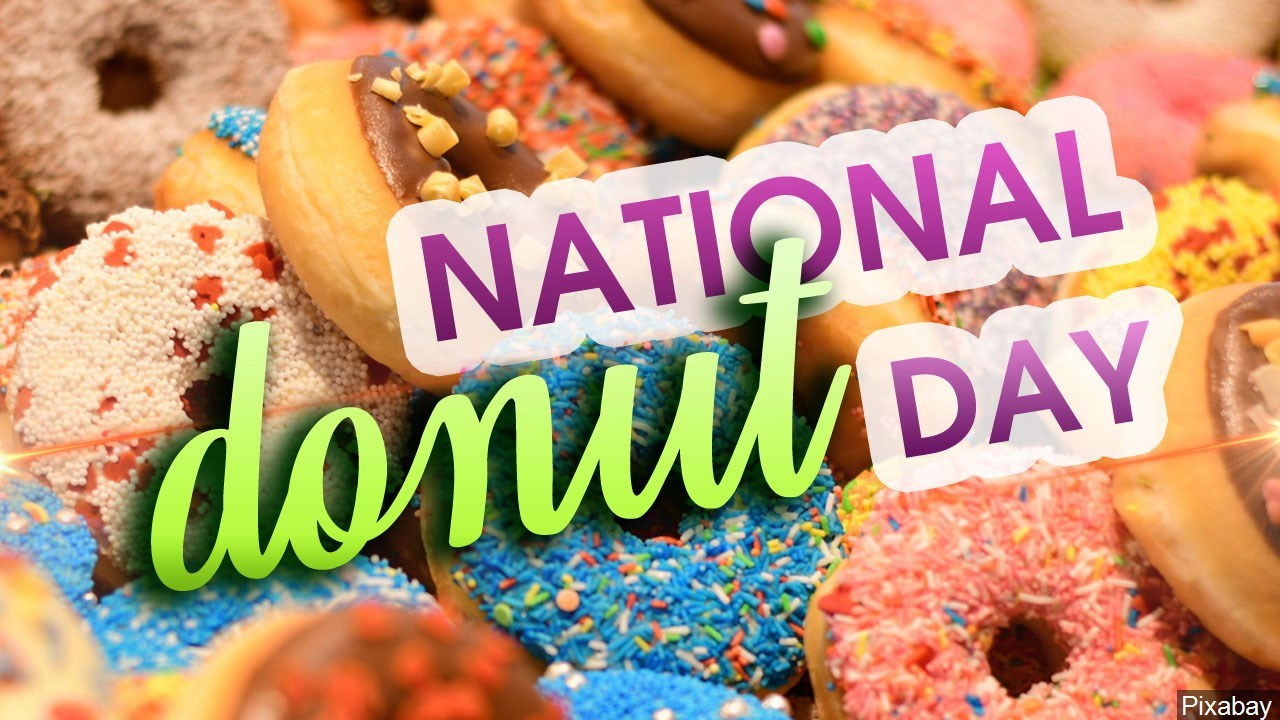National Donut Day 6/4/2021